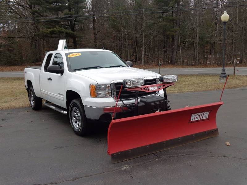 2009 GMC Sierra 1500 4x4 Work Truck 4dr Extended Cab 5.8 ft. SB - Saratoga Springs NY