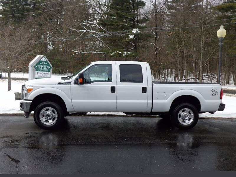 2016 Ford F-250 Super Duty 4x4 XLT 4dr Crew Cab 6.8 ft. SB Pickup - Saratoga Springs NY