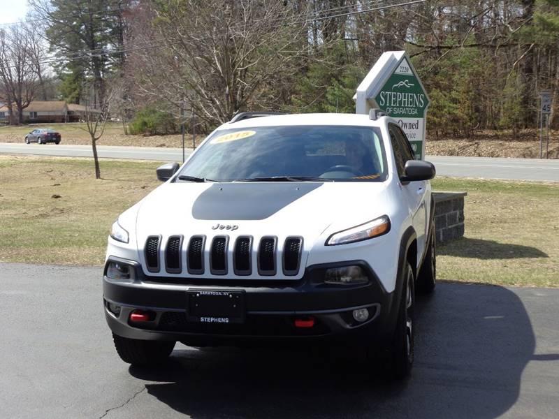 2015 Jeep Cherokee 4x4 Trailhawk 4dr SUV - Saratoga Springs NY