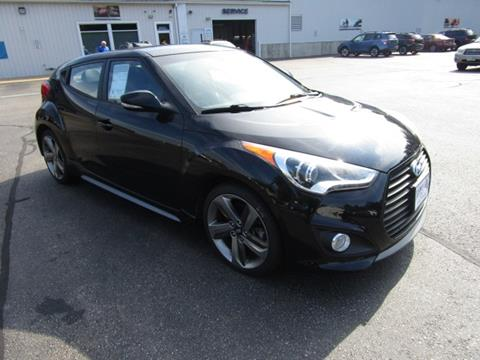 2014 Hyundai Veloster Turbo for sale in Tilton, NH