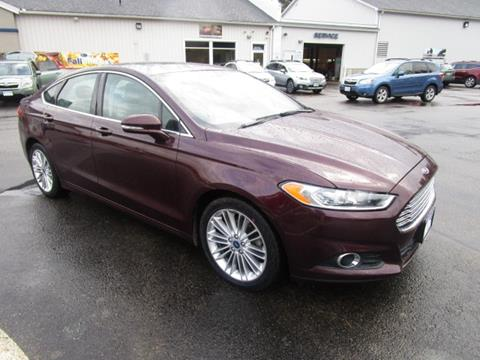 2013 Ford Fusion for sale in Tilton NH