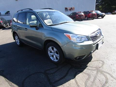 2015 Subaru Forester for sale in Tilton NH