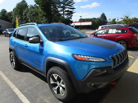 2018 Jeep Cherokee for sale in Tilton, NH