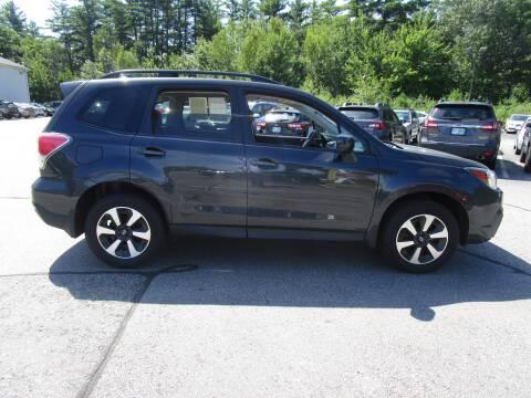 2017 Subaru Forester for sale at BELKNAP SUBARU in Tilton NH