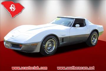 1982 Chevrolet Corvette for sale in Greer, SC