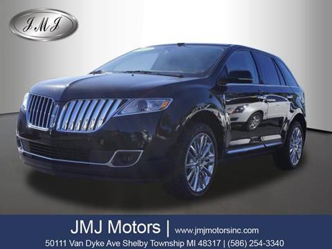2013 Lincoln MKX for sale in Shelby Township, MI
