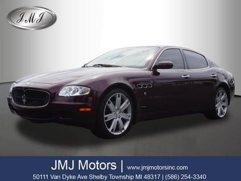 2007 Maserati Quattroporte for sale in Shelby Township, MI