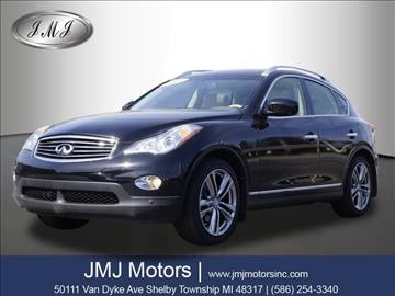 2013 Infiniti EX37 for sale in Shelby Township, MI