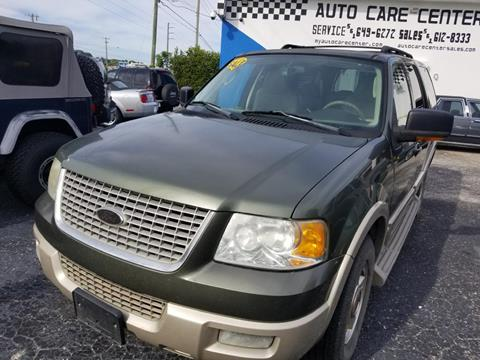 2005 Ford Expedition for sale at AUTO CARE CENTER in West Palm Beach FL