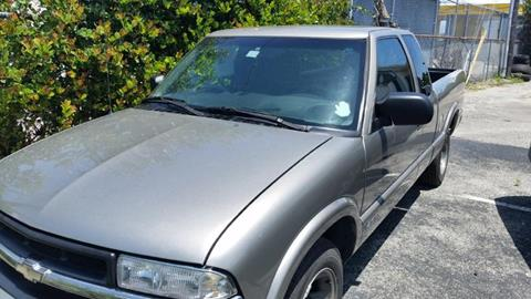 2001 Chevrolet S-10 for sale in West Palm Beach FL