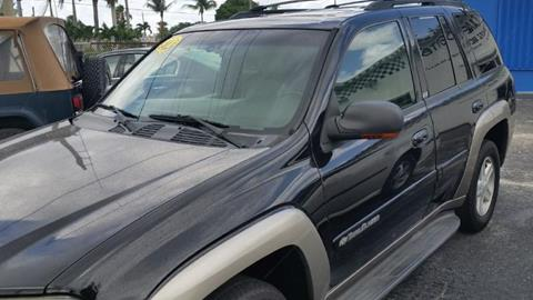 2002 Chevrolet TrailBlazer for sale at AUTO CARE CENTER in West Palm Beach FL