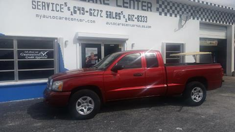 2006 Dodge Dakota for sale at AUTO CARE CENTER in West Palm Beach FL