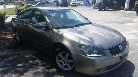 2005 Nissan Altima for sale at AUTO CARE CENTER in West Palm Beach FL