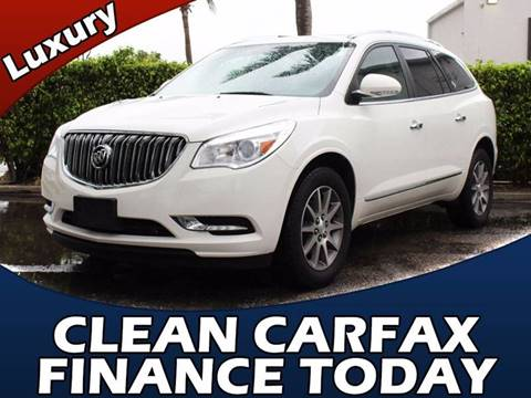 2014 Buick Enclave for sale in Lake Park, FL