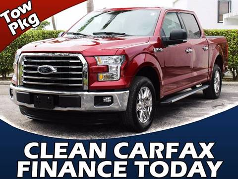 2015 Ford F-150 for sale in Lake Park, FL