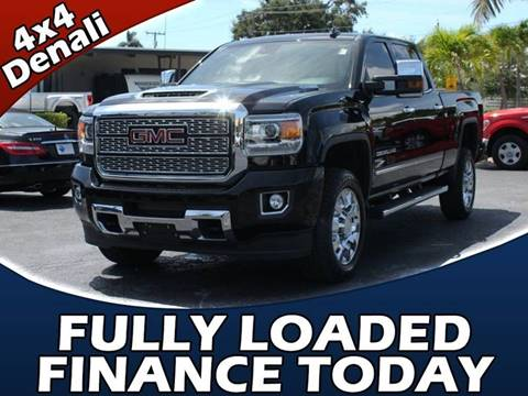 2018 GMC Sierra 2500HD for sale in Lake Park, FL