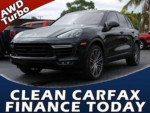 2015 Porsche Cayenne for sale in Lake Park, FL