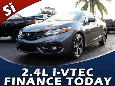 2015 Honda Civic for sale in Lake Park, FL