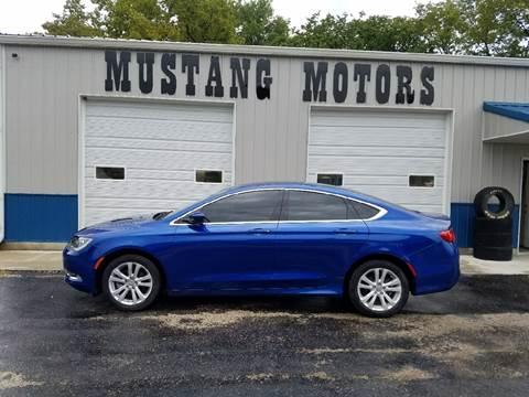 2015 Chrysler 200 for sale in Blue Rapids, KS