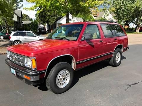1994 Chevrolet S-10 Blazer for sale in Springfield, OR