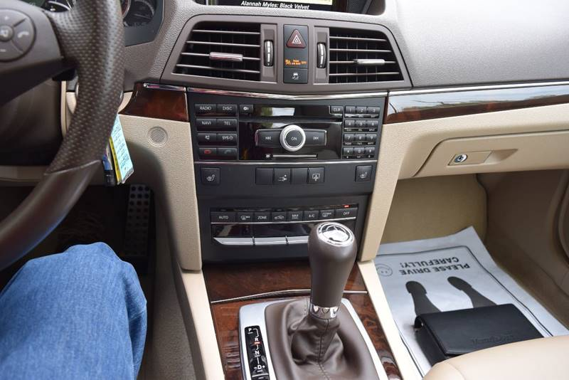 2010 Mercedes-Benz E-Class E 350 2dr Coupe - Columbus OH