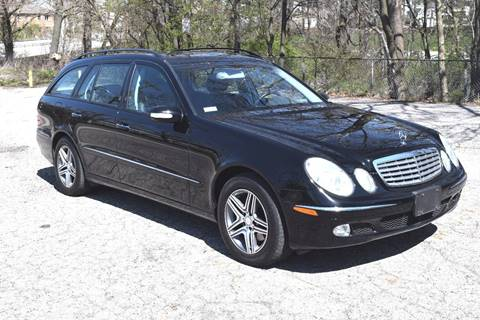 2004 Mercedes-Benz E-Class for sale at Bill Dovell Motor Car in Columbus OH