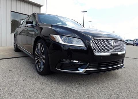2017 Lincoln Continental for sale in Marinette, WI