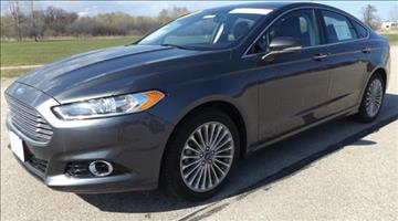 2016 Ford Fusion for sale in Marinette, WI