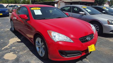 2012 Hyundai Genesis Coupe for sale in Fort Worth, TX