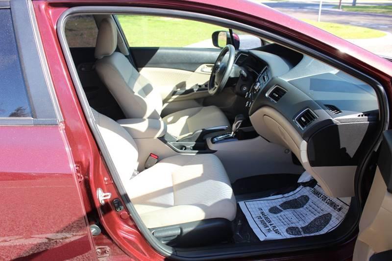2015 Honda Civic LX 4dr Sedan CVT - Turlock CA