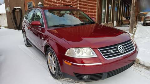 2002 Volkswagen Passat for sale at Selective Wheels in Windber PA