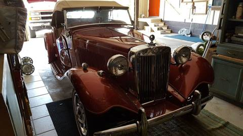 1953 MG TD for sale in Windber, PA