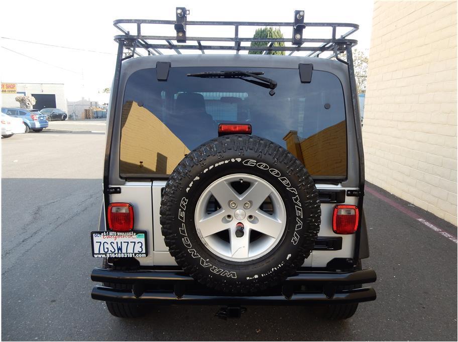 2005 Jeep Wrangler Rubicon 4WD 2dr SUV - Sacramento CA