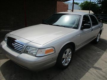 2008 Ford Crown Victoria for sale in Houston, TX