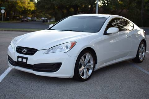 2010 Hyundai Genesis Coupe for sale in Austin, TX