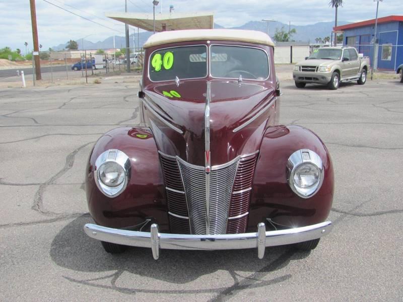 1940 Ford Deluxe  - Tucson AZ