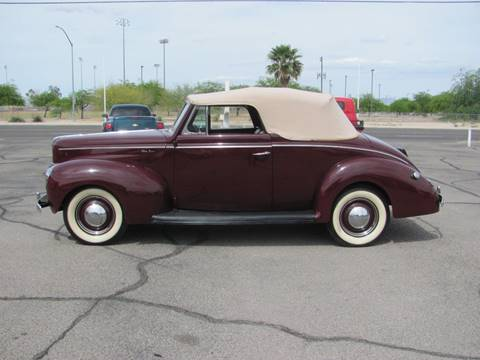 1940 Ford Super Deluxe for sale in Tucson, AZ