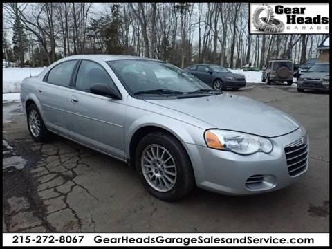 2004 Chrysler Sebring for sale at Gear Heads Garage LLC in Harleysville PA