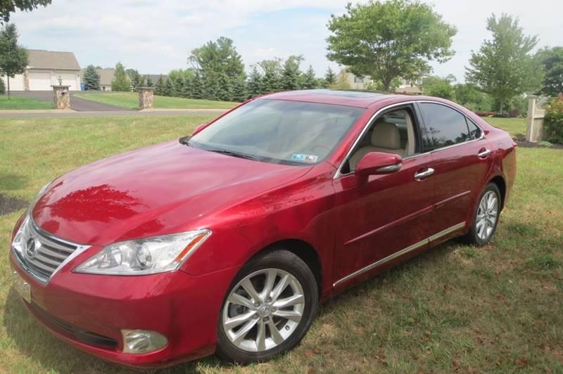 2010 Lexus ES 350 for sale at Gear Heads Garage LLC in Harleysville PA
