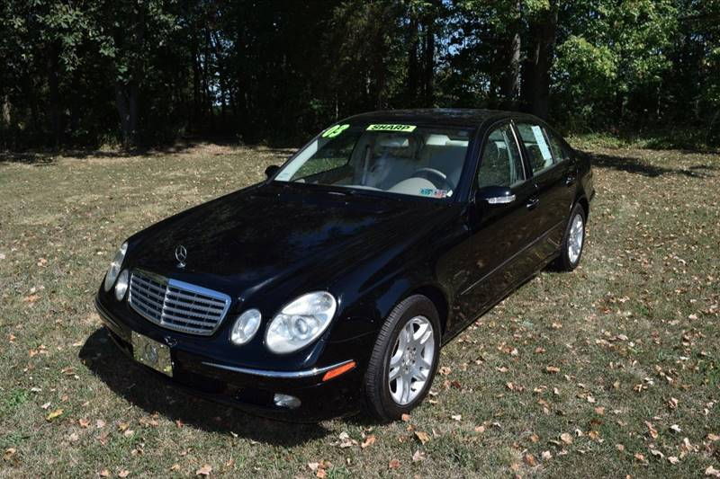 2003 Mercedes-Benz E-Class for sale at Gear Heads Garage LLC in Harleysville PA