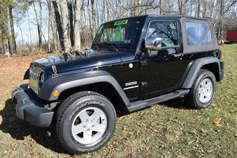 2011 Jeep Wrangler for sale at Gear Heads Garage LLC in Harleysville PA