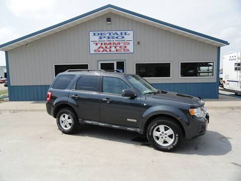 2008 Ford Escape for sale in Hastings, NE
