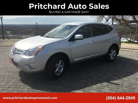 2013 Nissan Rogue for sale at Pritchard Auto Sales in Richmond VA