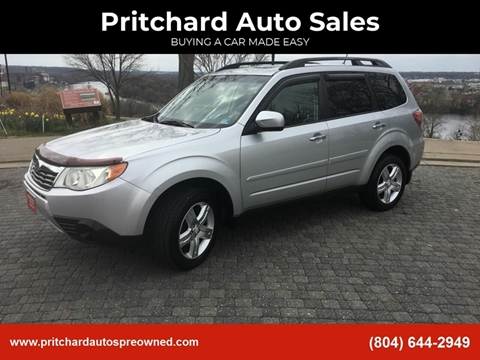 2010 Subaru Forester 2.5X Premium for sale at Pritchard Auto Sales in Richmond VA