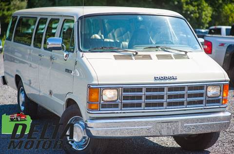 1991 Dodge Ram Wagon