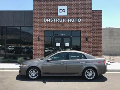 2008 Acura TL for sale at DASTRUP AUTO in Lindon UT