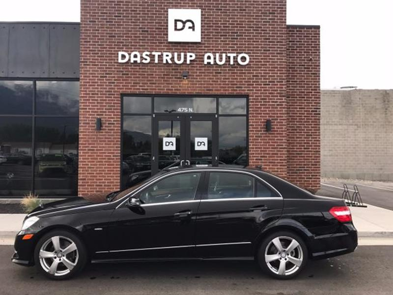 2012 Mercedes-Benz E-Class for sale at DASTRUP AUTO in Lindon UT