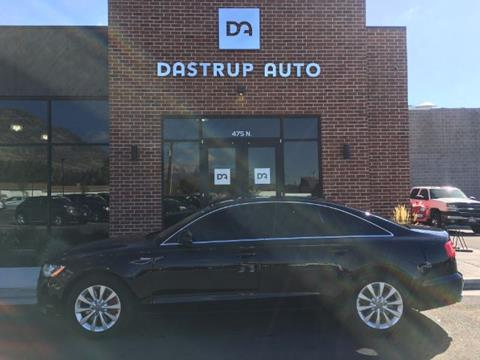 2012 Audi A6 for sale at DASTRUP AUTO in Lindon UT