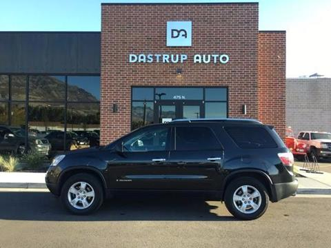 2008 GMC Acadia for sale at DASTRUP AUTO in Lindon UT