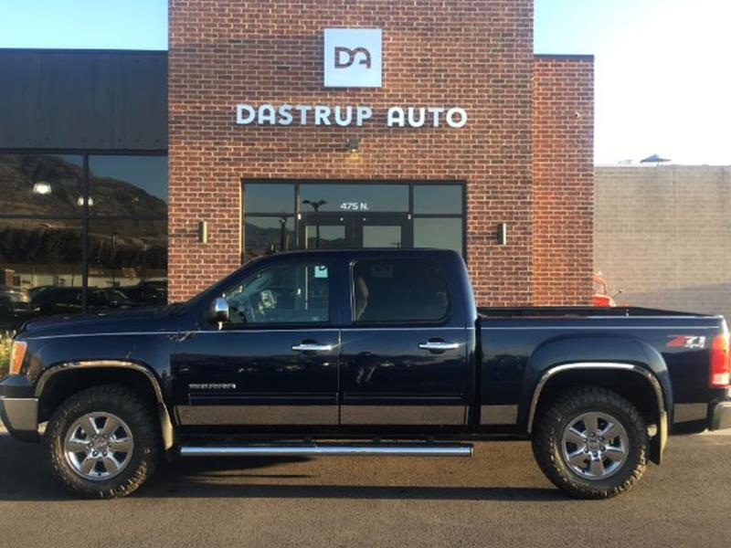 2010 GMC Sierra 1500 for sale at DASTRUP AUTO in Lindon UT